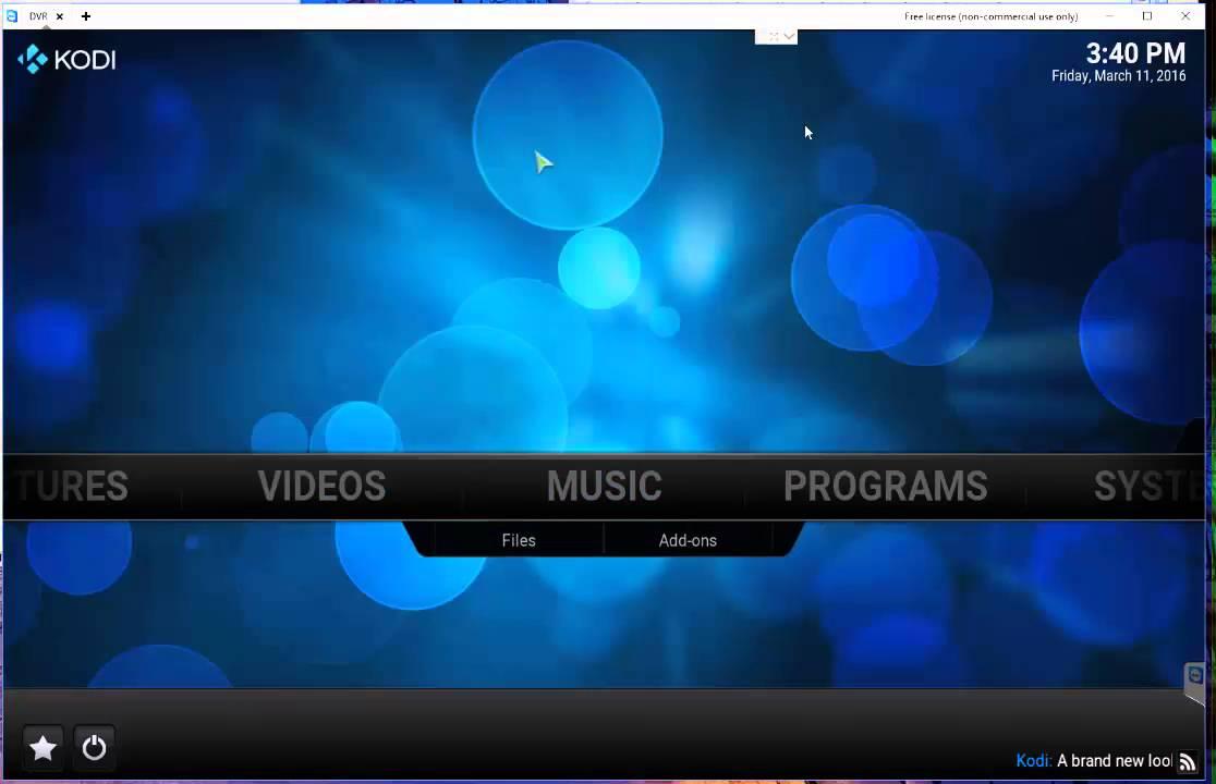 6 of 7 Kodi NextPVR LiveTV DVR