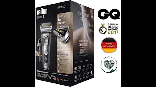 Braun 9 9385cc electric shaver…