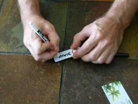 reusable name tags dry erase youtube