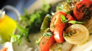 Grilled Cucumber Salad Recipe