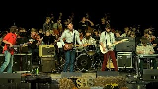 Free Bird covered by Dirty Grass Soul & Shelby High School Orchestra