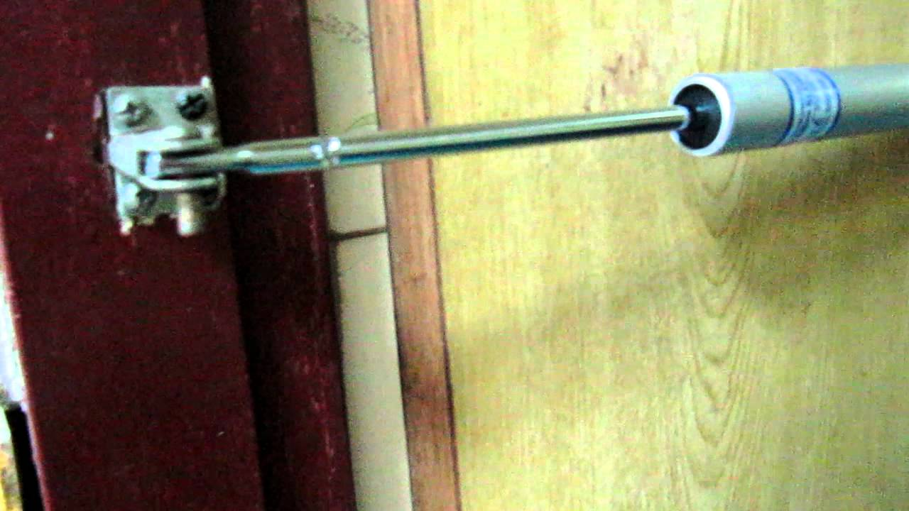 & Hydraulic door closer Door spring - YouTube pezcame.com
