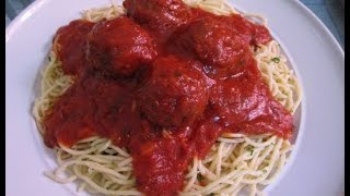 How to make Meatballs and Spaghetti