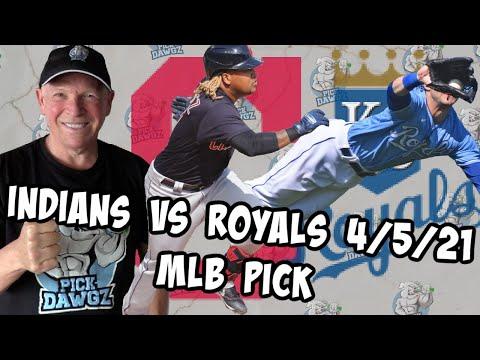 Cleveland Indians vs Kansas City Royals 4/5/21 MLB Pick and Prediction MLB Tips Betting Pick