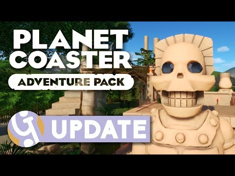 Adventure Pack DLC Overview + Giveaway | Planet Coaster