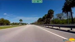 Drive CR 512 East from Fellsmere, FL to Sebastian, FL