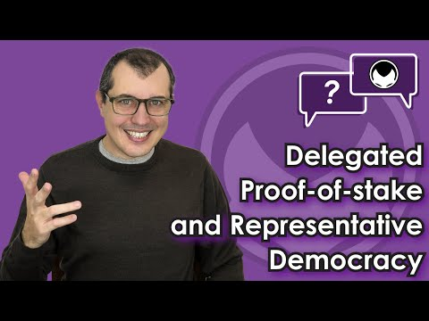 Ethereum Q&A: Delegated Proof-of-stake and Representative Democracy