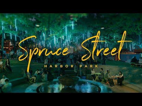 Spruce Street Harbor Park (4k)