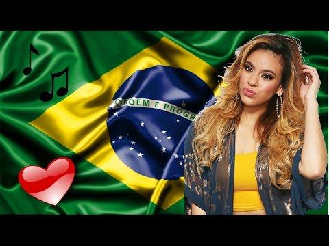 DINAH JANE - Falando Português e Ouvindo Funk do BRASIL [HD] | Fifth Harmony
