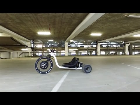 E-bike Electric Drift Trike 1500w