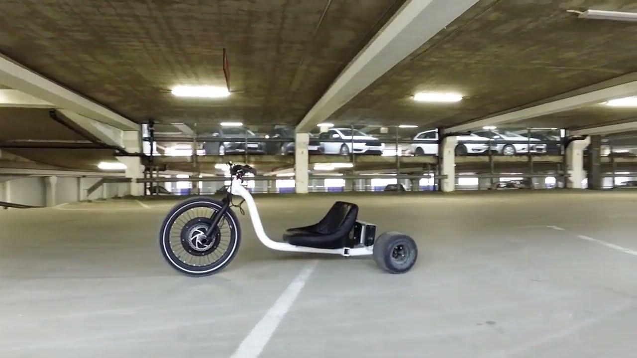 E Bike Electric Drift Trike 1500w Youtube