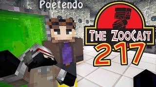 Minecraft Jurassic World (Jurassic Park) ZooCast - #217 A Poet Surprise!