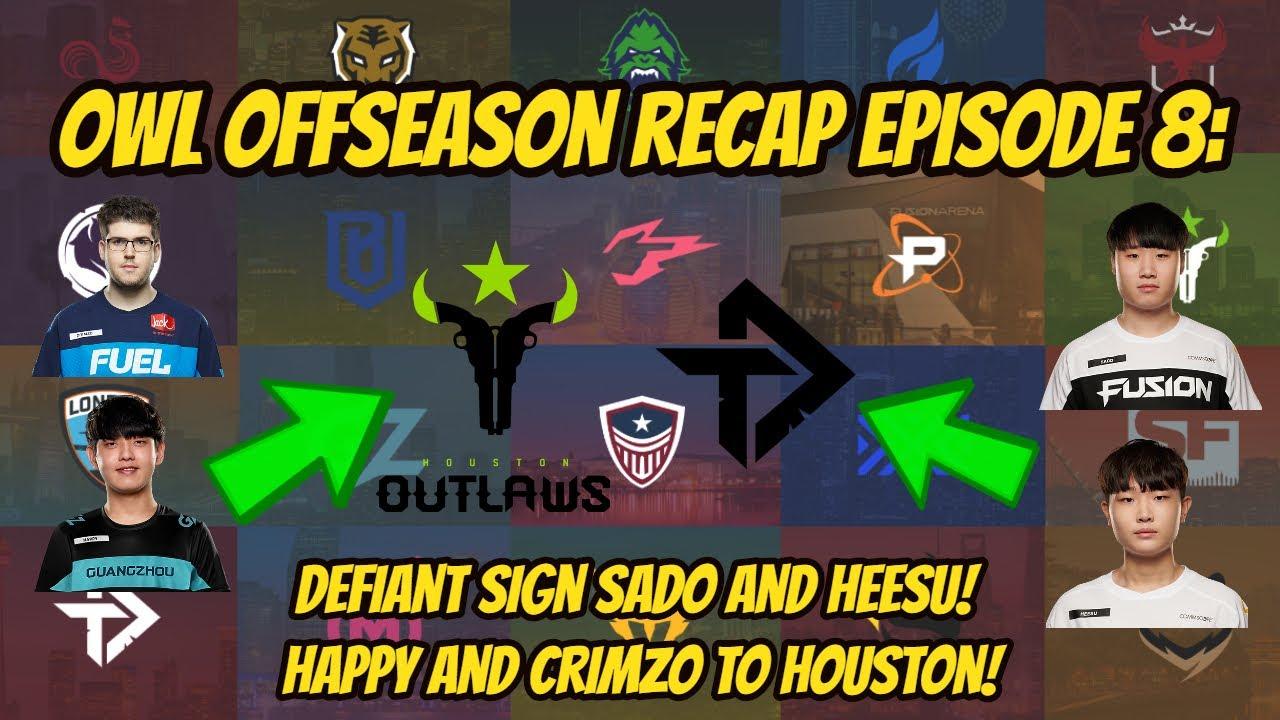 Sado and Heesu Join the Toronto Defiant! OWL Season 4 Offseason Recap Episode 8