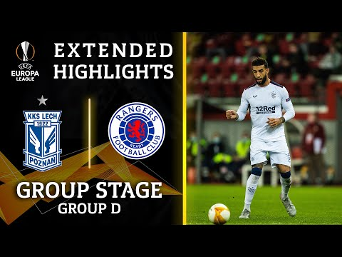 Rangers vs. Lech: Extended Highlights | UCL on CBS Sports