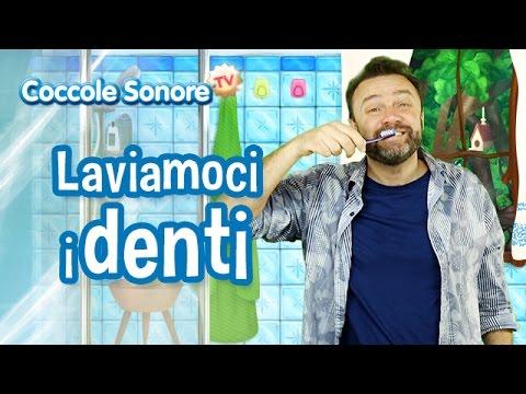 Laviamoci i Denti - Italian Songs for children by Coccole Sonore