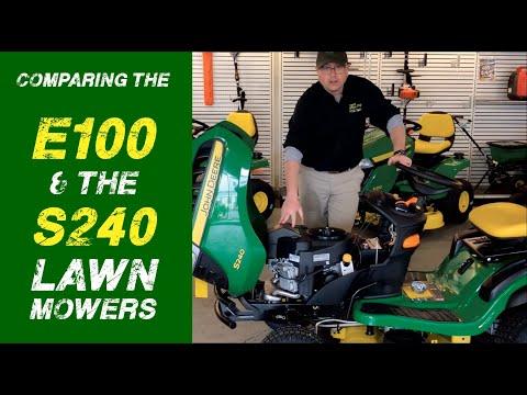 the-john-deere-e100-vs.-the-s240-lawn-mower