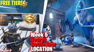 Season 7 Week 5 Secret Battle Star LOCATION! (FREE TIER!) Fortnite Battle Royale'