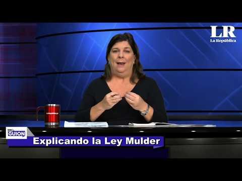 Explicando la Ley Mulder - SIN GUION con Rosa María Palacios