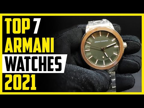 Best Armani Watch - Top 7 Best Armani Watches To Buys In 2020