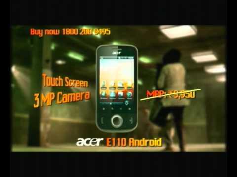 Future Bazaar Acer E110 Android