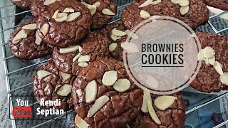 MEMBUAT BROWNIES COOKIES