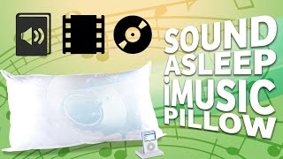 The Sound Asleep iMusic Pillow - Rest Your Weary Head Here!