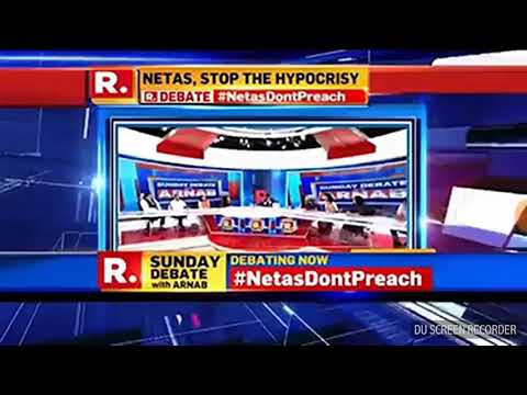 Trisha Shetty, an young social activist slams down all Indian parties including Arnab
