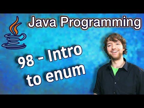 Java Programming Tutorial 98 - Intro to enum thumbnail