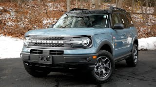 2021 Ford Bronco Sport Badlands Review - Walk Around and Test Drive