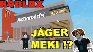 My McDonald's-om in ROBLOX?! | MY FIRST ROBLOX VIDEO!