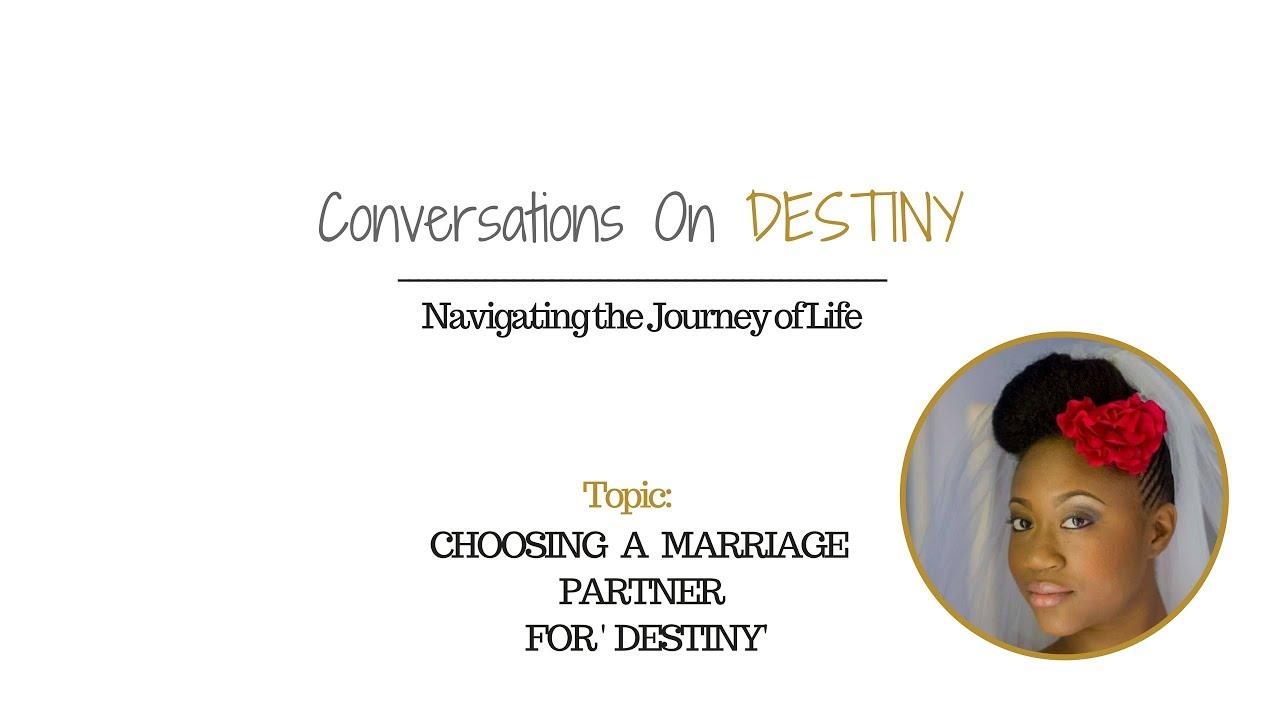marrying for u0027destiny u0027 with ruth naomi mitchell youtube