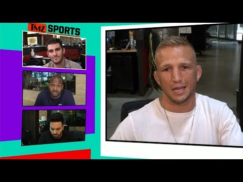 T.J. Dillashaw Says CM Punk Was Terrible, But I Respect Him | TMZ Sports