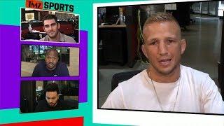 T.J. Dillashaw Says CM Punk Was Terrible, But I Respect Him | TMZ Sports