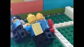 LEGO Футбол Матч Чемпионат Европы Италия Испания