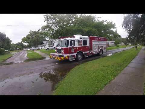 Hurricane Irma! St Pete FL - My neighborhood 8hrs after impact