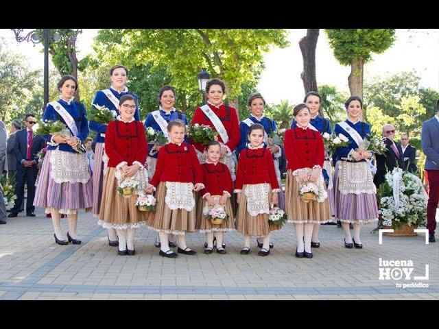 VÍDEO: Fiestas Aracelitanas: La Ofrenda de Flores a María Stma. de Araceli