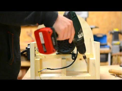 Diy Build Wooden DISC SANDER - Diy Woodworking Tools