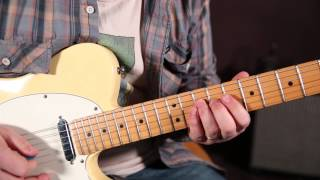 Texas Blues Lick - Albert King, SRV Inspired - Marty Schwartz