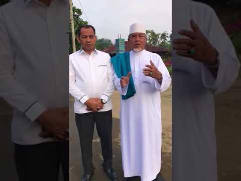 Kapolsek Sunggal Bersama Tokoh Agama Provinsi Sumut Ustadz KH. Zulfikar Hajar, Lc