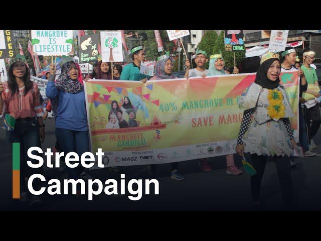 Mangrove Olympic: Kampanye Mangrove Rame-rame