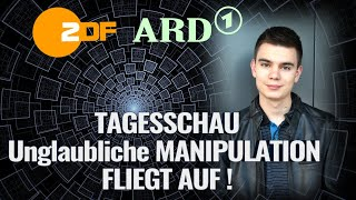 TAGESSCHAU: Unglaubliche MANIPULATION FLIEGT AUF!