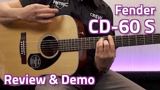Fender CD-60S Dreadnought Acoustic - Review & Demo