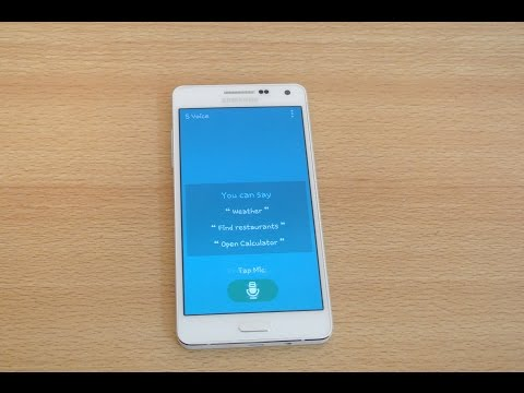 Samsung Galaxy A5 - S Voice Review HD
