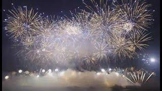 Fajerwerki Święto Niepodległości 11 listopada 2019 Warszawa / Fireworks Independence Day Warsaw 2019