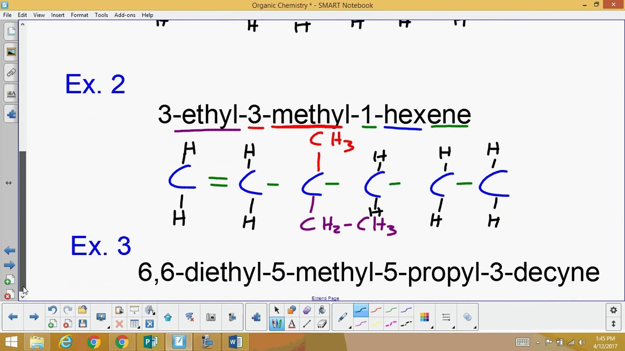Agenda today lesson on naming and structure of: – alkenes.