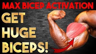MONSTER ARMS! | 5 Exercises FORCE Gigantic BICEPS!