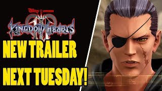NEW KINGDOM HEARTS 3 REMIND TRAILER COMING NEXT WEEK!