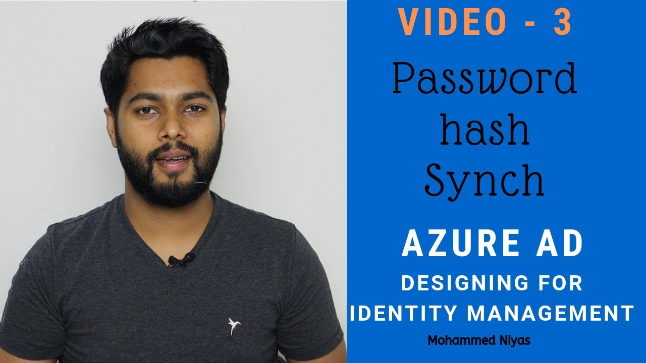 Azure AD - AD Connect - configure Password Hash Synchronization - Identity  & Access management V 3