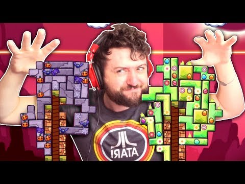 WERE IN THE TETRIS BIG LEAGUES NOW  Tricky Towers w Friends