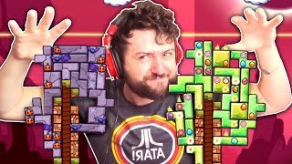 WE'RE IN THE TETRIS BIG LEAGUES NOW   Tricky Towers w/ Friends